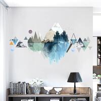 创意家居墙纸贴纸 创意 简约 欧式贴纸大学生寝室布置墙贴房间客厅装饰品墙纸自粘温馨贴画 特大
