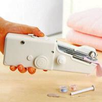 手提式小缝纫机家用迷你手动手持电动缝纫机手拿手工缝纫机