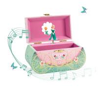 音乐盒首饰盒儿童旋转跳舞女生公主八音盒女孩生日圣诞礼物