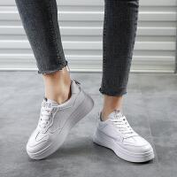 木林森【*新款】新品女鞋厚底增高百搭板鞋女休闲鞋小白鞋女