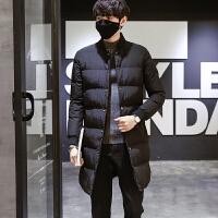冬季男士棉衣 韩版修身男 青少年中长款潮流外套男棉袄