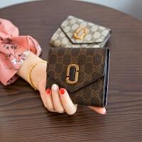 295零钱包硬币包女 小钱包 短款学生手包拿钥匙包 3_咖啡色 现货