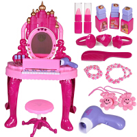 过家家梳妆台儿童化妆品公主彩妆盒女孩生日礼物女童玩具3-4-5岁