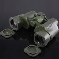 望远镜高倍高清夜视望远镜天文双筒打猎演唱会 军绿色
