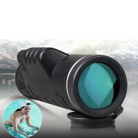 手机望远镜单筒高清高倍军微光夜视非红外人体透视成人便携