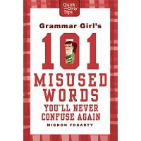 语法女王:101个误用单词 英文原版 Grammar Girl's 101 Misused Words You'll Never Confuse Again