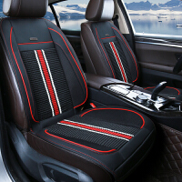 夏季汽车制冷坐垫冰丝通风座椅凉垫车载12V空调吹风按摩透气座垫