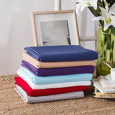 当当优品家纺 60支贡缎长绒棉纯色被罩 160x210