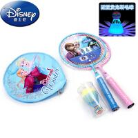 迪士尼冰雪奇缘儿童羽毛球拍 宝宝对装拍3-4-5-6岁2支装