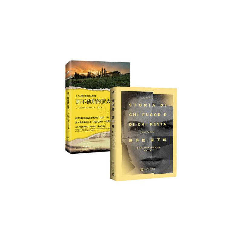 套装现货 那不勒斯的萤火+离开的留下的 共2册 一个关于友情与亲情、迷失与成长的故事 青春文学 外国小说