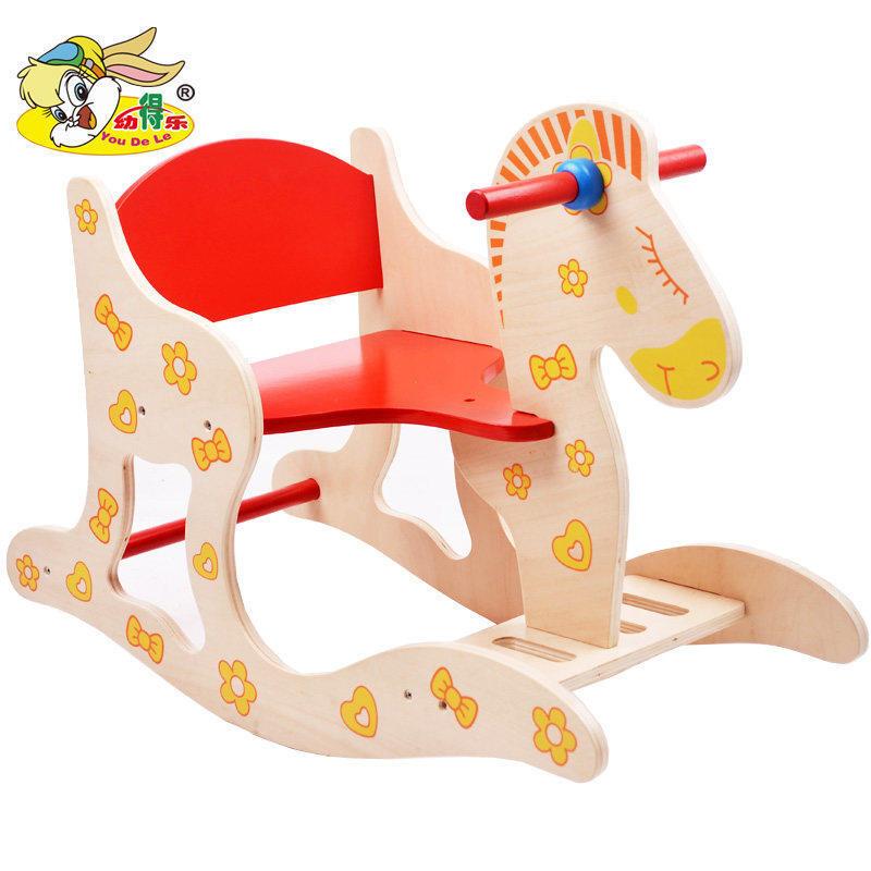 早教儿童木质木马摇马摇椅宝宝玩具婴儿大号生日礼物 儿童摇摇马 发货周期:一般在付款后2-90天左右发货,具体发货时间请以与客服协商的时间为准