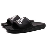 adidas阿迪达斯男子拖鞋2018新款凉拖游泳拖休闲运动鞋CP9446