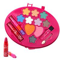 儿童化妆品过家家玩具女孩可化妆玩具彩妆口红眼影腮红套装