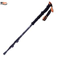 登山杖加厚碳纤维 轻型外锁 伸缩手杖男女老人拐杖碳素