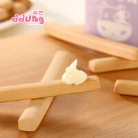 【冬己手工牛奶棒筷子饼干130g*1罐】罐装无添加儿童磨牙棒硬手指点心长条零食