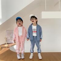 童装夏季男女童幼儿园班服儿童运动套装春中小童