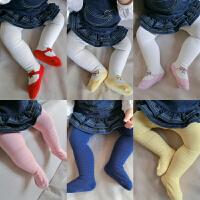 婴儿袜子春秋冬季儿童宝宝连裤袜9春秋女童新生儿6个月保暖打底袜