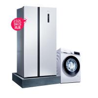 【精选套装】西门子冰洗套装KA50NE20TI+WG42A1U00W