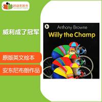 英国进口 安东尼・布朗 Willy the Champ 威利成了冠军 【平装】