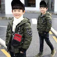 童装男童冬装棉衣中大童短款棉袄外套潮