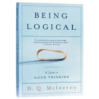 正版 简单的逻辑学 英文版 Being Logical 进口哲学书 英文原版 科普入门英语书籍