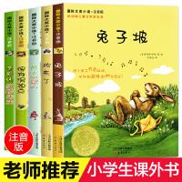 兔子坡亲爱的汉修先生桥下一家人国际大奖小说5册小学生课外阅读书籍注音版一年级二年级必读三6-7-8-10-12周岁班主