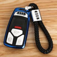 新A4L钥匙套 适用于奥迪新Q7扣TTS壳改装 新款A5钥匙包
