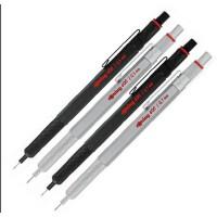 经典红环600 Rotring 600 绘图铅笔 黑/银色