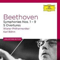 [现货]贝多芬1-9交响曲全集 伯姆 6CD Beethoven: Symphonies (DG Collectors