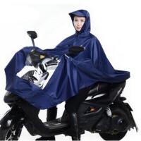 天堂电动车雨披带反光条单人雨衣雨披N120