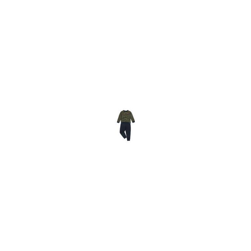 童装春装男童卫衣套装纯棉春秋中大童条纹运动两件套韩版