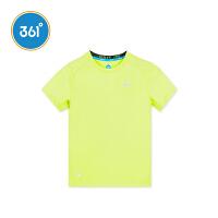 【儿童节立减价:41.7】361度 男童短袖针织衫 夏季新款K51823203