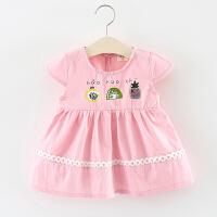 女童裙子夏季儿童棉布连衣裙0一1-2-3周岁小女孩宝宝夏装