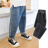2020男童牛仔裤童装儿童裤子潮中大童长裤
