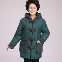 老年人冬装60-70岁奶奶装棉衣加肥加大中长款加厚中老年女装