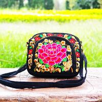 绣花包刺绣复古百搭女士包袋单肩斜挎包零钱包手机包包
