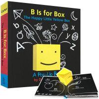 B IS FOR BOX开心的黄色小盒子 英文原版立体趣味操作书