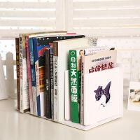 书架 简易创意木质办公收纳文件架桌面储物盒简约现代置物架桌上整理架子满额减限时抢家具用品