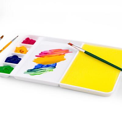 美乐(JoanMiro) 儿童多功能水彩调色盘/塑料调色盘/颜料盘 美术绘画工具