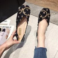 户外百搭原宿风凉鞋女时尚女士平底鞋休闲舒适女鞋