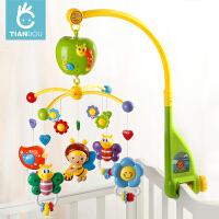 婴儿床铃音乐旋转床头摇铃0-3-6-12个月新生儿婴儿玩具0-1岁宝宝