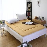 学生床垫单人0.9m床学生寝室宿舍 90x190cm可折叠床垫冬夏两用