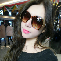 新款女士太阳镜女潮明星时尚墨镜女韩版大框多边形酷圆脸