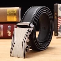 皮带男士H扣字母平滑扣发型师时尚韩版商务休闲酷奇腰带