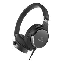 铁三角 ATH-SR5 便携头戴式HiFi耳机 高解析音质 黑色