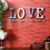 创意墙上挂衣钩门口玄关钥匙挂钩墙壁衣帽架壁挂墙面装饰