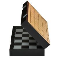 磁性国际象棋套装折叠棋盘初学者儿童大号黑白色棋