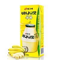 【韩国进口】Binggrae/宾格瑞香蕉牛奶 200ml 进口牛奶香蕉味 营养早餐牛奶