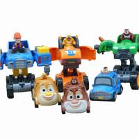 熊出没熊大熊二玩具变形车男孩子女儿童4-5岁套装益智玩具光头强