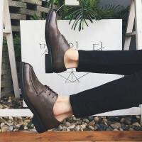 男鞋秋季新款休闲男复古英伦皮鞋低帮鞋